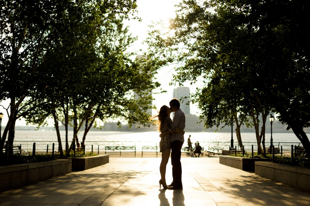 epic engagement shoot in Manhattan, New York